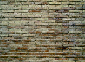 Brick wall Drama: Obscure and dramatic brick wall