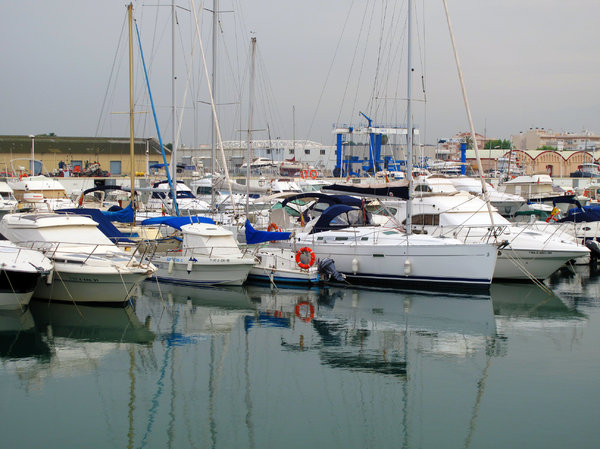 Yatch club: Marina de Gandia, Spain