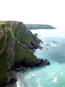 Cornish Coast: Coastline Nr Godrevy, Cornwall