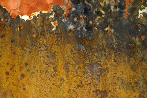 Boxcar textures 1: Textures from an old abandoned metal boxcar.