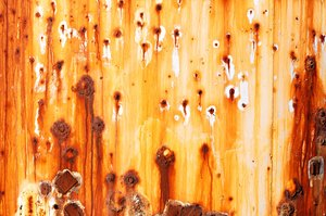 Water tank texture 1: This is the side of a large water tank I found in a remote field in Chandler, Arizona.