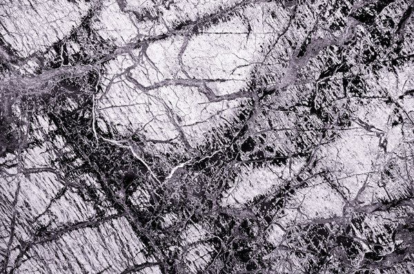 Marble 3: Marble with many veins.