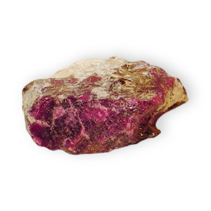 Corundum variety Ruby (2): Corundum variety Ruby (Aluminum oxide)Location;Froland, Norway