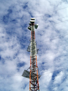 Communication Tower2: Photo taken 200km west of Yellowknife, NWT, Canada