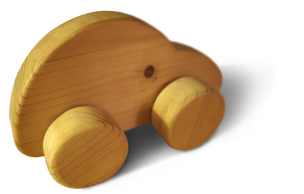 beetle: homemade wooden toy