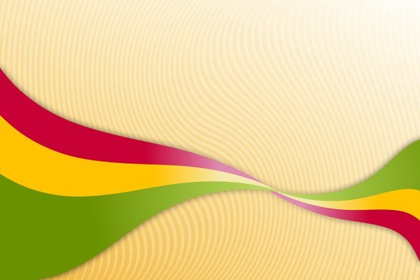 Colorful Ribbon: Colored ribbon on the background with stripes
