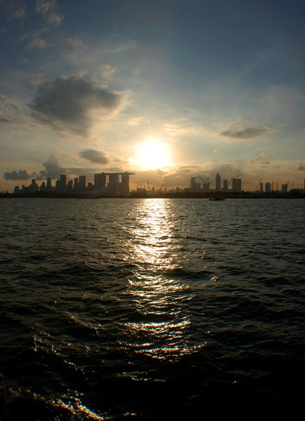 City Sunset Skyline 3: Singapore