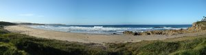Beach panoramic: Stitched panoramic of a beach on the coast of New South Wales, Australia