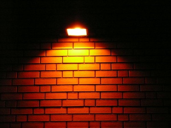 Wall Light: Lantern, lightning up the night