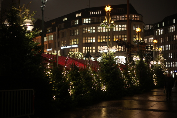 Christmas Market 2: Impressions from historical christmas market in Hamburg, Germany
