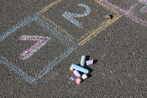 Hopscotch 2: An ancient outdoor game, which is played on the streets and in the schoolyards all over the world. It has a lot of different names, but the rules are quite similar in all coutries.