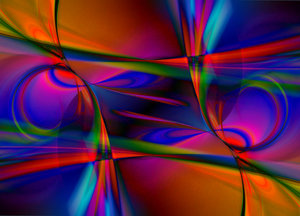 Psychadelic Abstract Swirls: