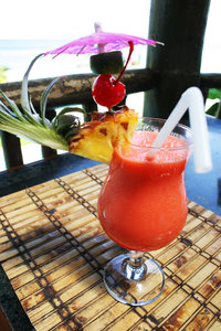 tropical drink: tropical drink