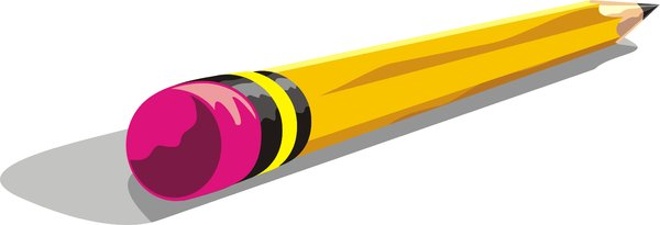 pencil: a vector piece of a pencil