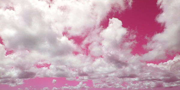 colored clouds: this series is a whimsical experiment on colored skies for various uses.