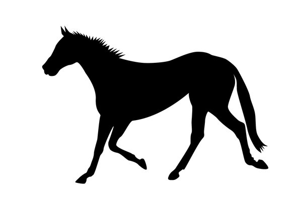 horse silhouette: Hope you like this and that it will be useful