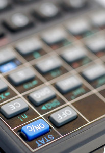 ON and OFF keys: Fingerboard of calculator