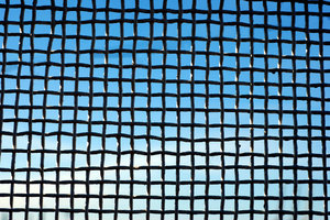 Gauze on the sky texture: Wire net pattern