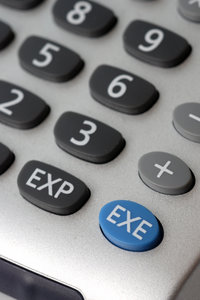 Fingerboard of advanced calcul: Numeric keyboard of calculator