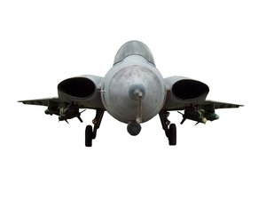 Swedish fighter jet  1: Military plane J 35 DRAKEN