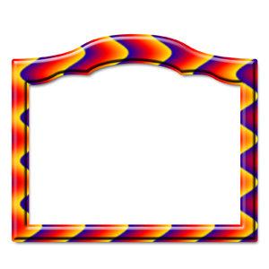 Photo frame - square 4: Frame for shot or painting