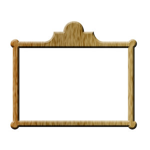 Rectangle picture frame 1: Rectangle for painting or photo