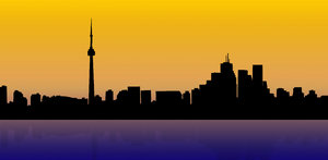 North American City skyline 1: Toronto