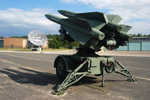 Surface to air missile: A surface to air missile or ground-to-air missile is a missile designed to be launched from the ground to destroy aircraft