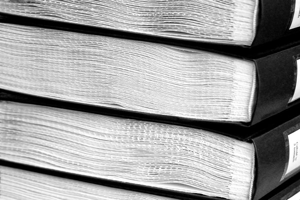 Side view of books - texture 3: Books with braille scripture, pattern