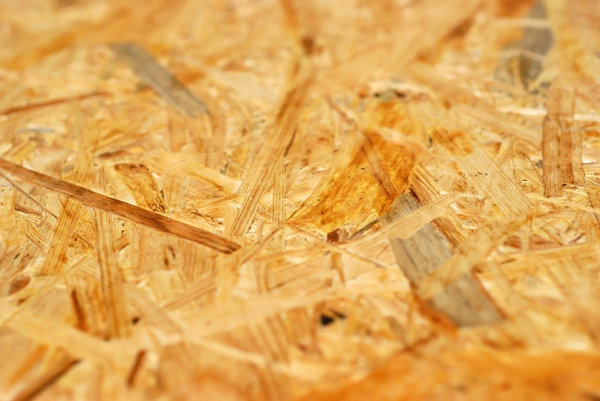 Chipboard - pattern: Particle board - texture