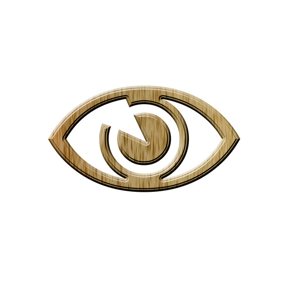 Eye pictogram 1: Icon of eye