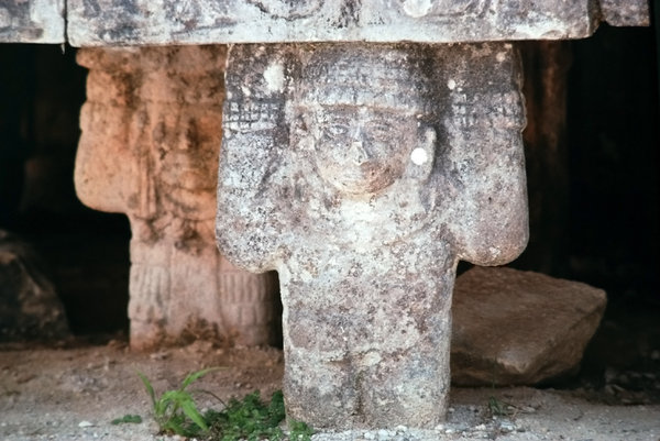 Sculptures from Chichen Itza 3: pre-Columbian archaeological items