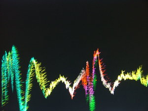 Music visualisation 3: What I see when I listen to some music.
