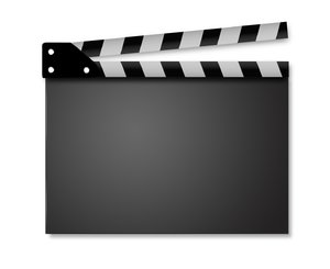Movie clapperboard series: