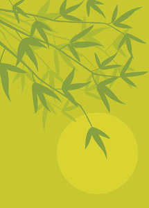 Bamboo: oriental background
