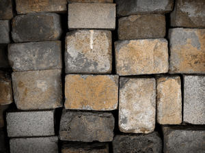 bricks: I have visited an old brick factory....A lot of bricks ...