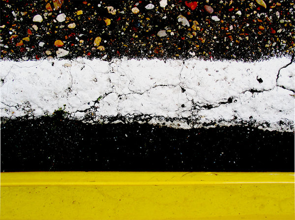 colors: the asphalt underneath my car, when I opened the door. My car has this terrible yellow color:)