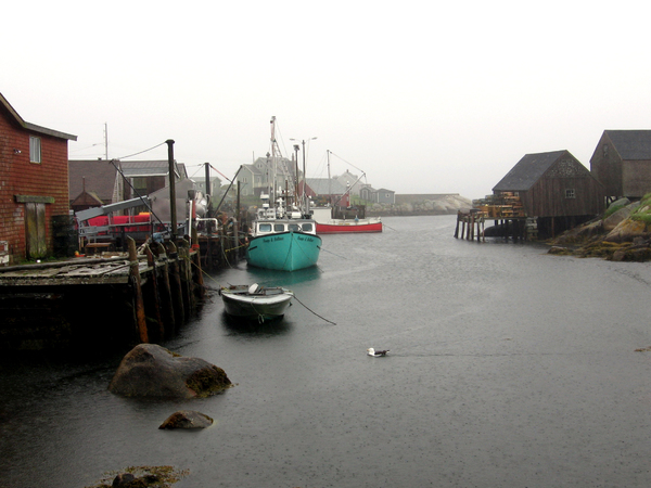 Peggy's Cove Harbor: The harbour at Peggy's Cove, Nova Scotia. Modern and ancient feelings at the same time.