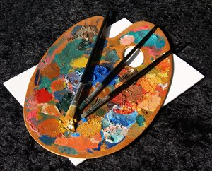 Artist Palette: Home artist will  survive