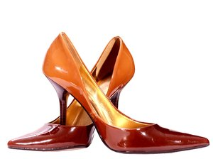 High heels: Pair of womens high heel shoes.