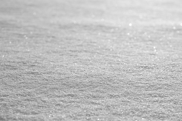 Texture - snow: The surface of snow using a narrow depth of field.