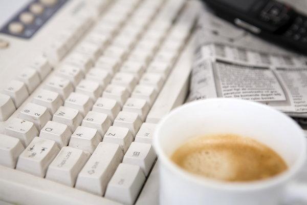morning coffee: morning news with coffee