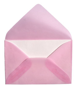 pink envelope 3: time to write a message