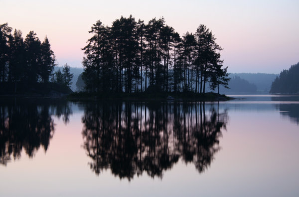 reflections: on a peacefull morning