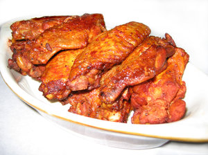 Hot Spicy Wings: Spicy chicken wings