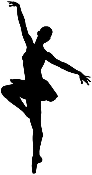 Ballerina 5: Vector Art