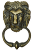 lion: lion-old door deco