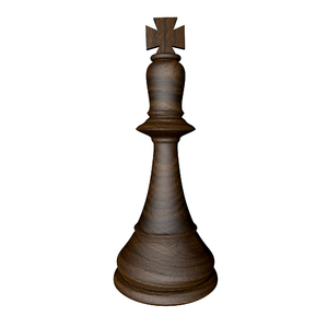 chess piece: chess piece-King-3D