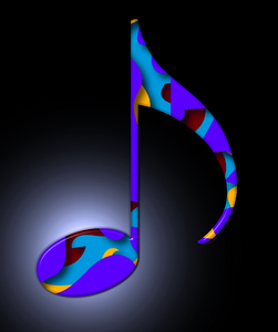 music note: music note-graphic