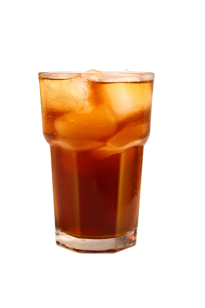 Some tea?: Iced tea with nice glass